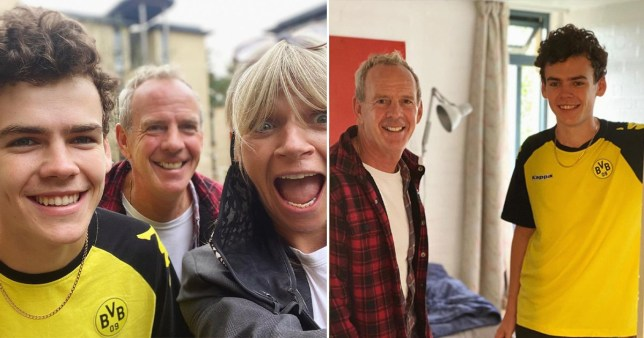 Zoe Ball and Norman Cook drops their son at Bristol Uni Zoe Ball/Instagram