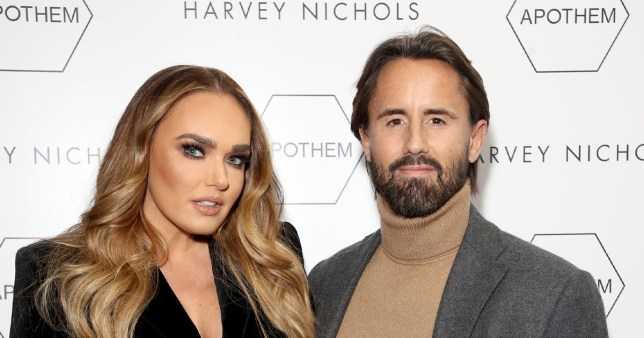 Tamara Ecclestone pictured at Harvey Nichols event with husband Jay Rutland