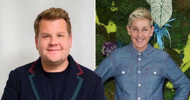 James Corden has no idea where Ellen DeGeneres rumour came from