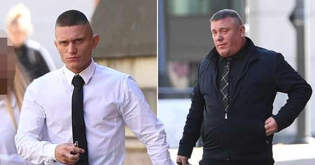 An angry motorist called his dad after being 'cut up' and then the pair worked in tandem to pursue their terrified victim onto the M62. The pair even used both their cars to force their victim onto the hard shoulder.
