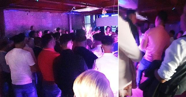 Wedding crashers! police raid wedding reception in Swansea