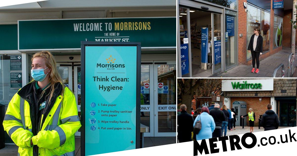 Which supermarkets are rationing items as stripped shelves begin to appear - metro