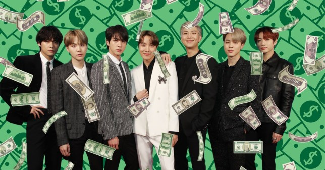 BTS net worth