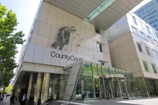 Melbourne Australie - 30 novembre 2018: tribunal de comté de Melbourne en Australie