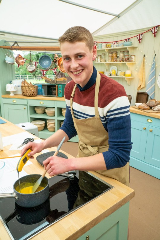 Peter, Great British Bake Off 2020