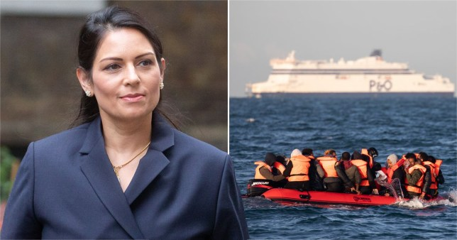 Priti Patel wanted to place asylum seekers in south atlantic