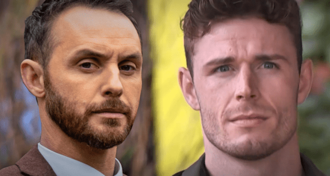 James and George in Hollyoaks