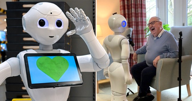 Talking robots could be used in care homes to cure loneliness