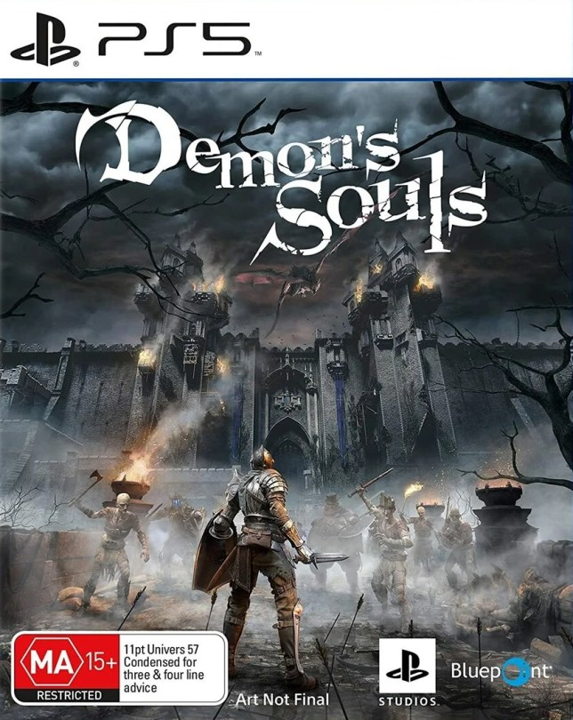 Demon's Souls box