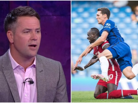 Michael Owen criticises Chelsea star Kepa Arrizabalaga for role in Andreas Christensen's red card