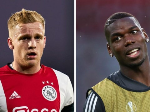 Manchester United signing Donny van de Beek means Paul Pogba will leave, claims Danny Murphy