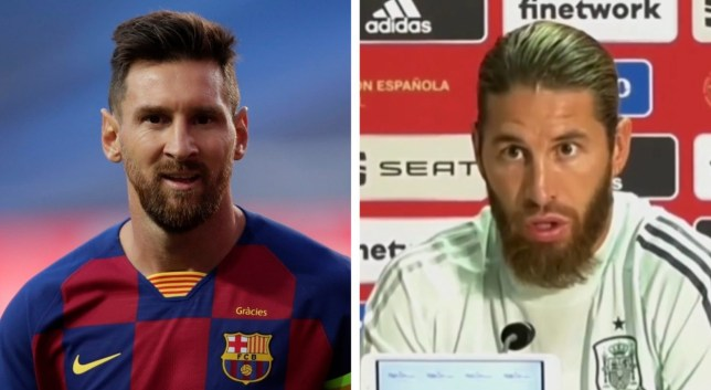 Sergio Ramos claims he wants Lionel Messi to stay at Barcelona