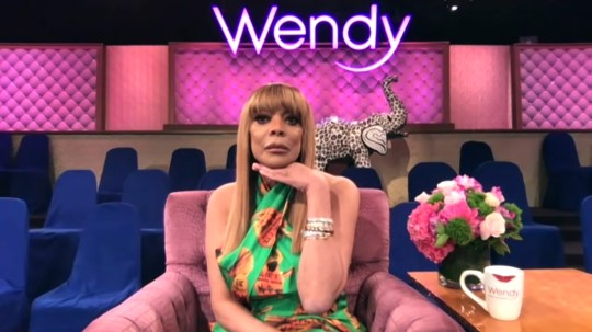 Wendy Williams says she's been spying on her neighbour with binoculars