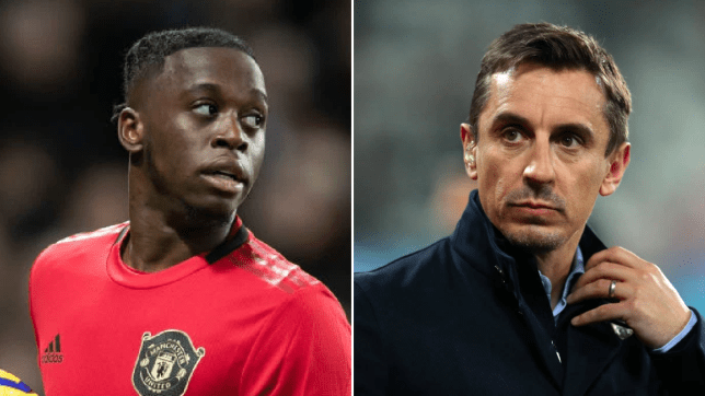 Gary Neville responds to criticism of Manchester United defender Aaron Wan-Bissaka with transfer suggestion