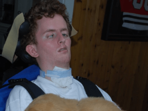 Stroke victim, 27, 'will die' after health insurer refused to keep paying for his 24/7 care