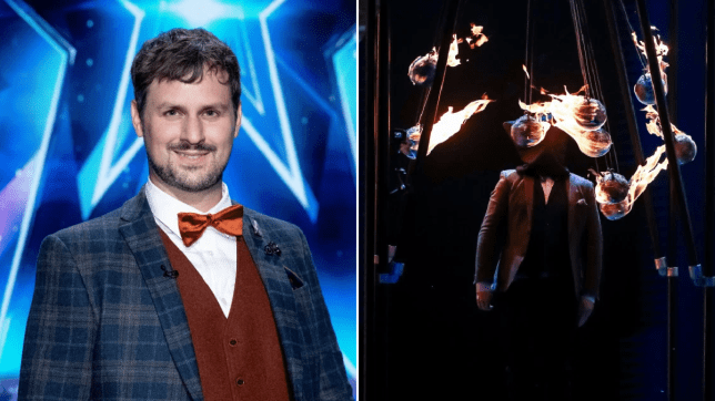 Britain's Got Talent magician promises more danger in the semi-final (Picture: ITV)
