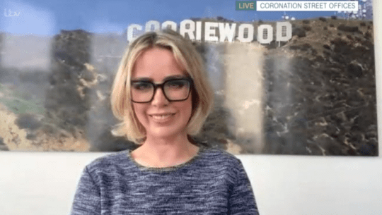 Coronation Street actress Sally Carman on This Morning