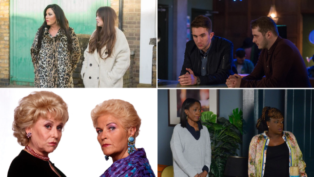 EastEnders - Kat and Stacey, Ben and Callum, Pat and Peggy, Kim and Denise