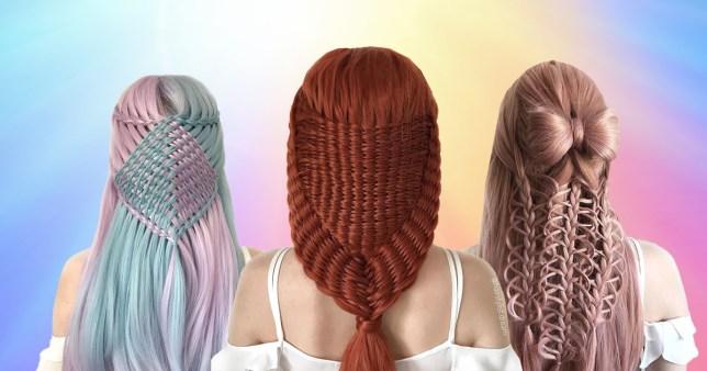 Intricate braid styles