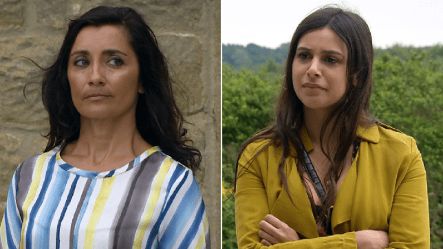 Manpreet and Meena in Emmerdale
