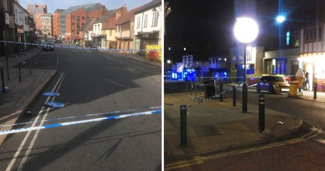 Three in hospital after 'outrageously violent' shooting