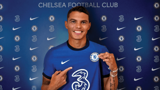 Thiago Silva joined Chelsea on a free transfer from PSG