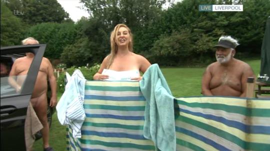 Josie Gibson (Picture: ITV)