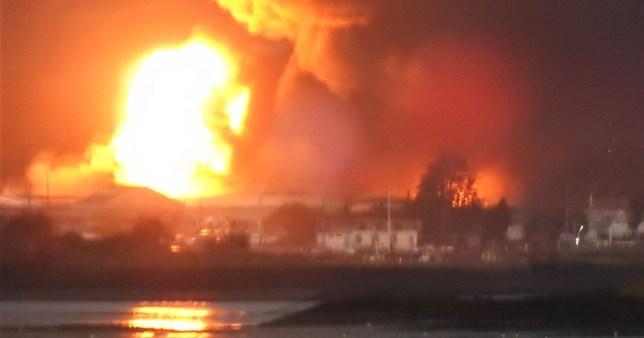 Hoo Marina explosion