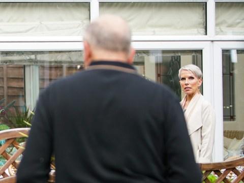 Coronation Street spoilers: Geoff Metcalfe and Debbie Webster destroy Sally