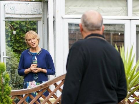Coronation Street spoilers: Geoff Metcalfe kills Sally with a spade?