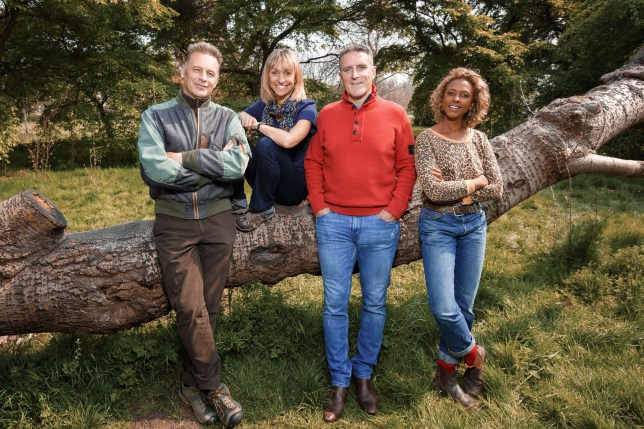 Autumnwatch 2020 team