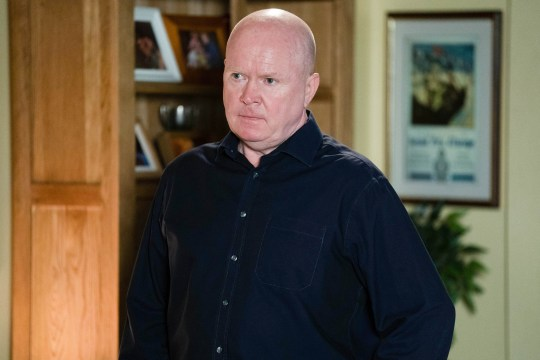 Phil Mitchell (Steve McFadden) in BBC soap EastEnders