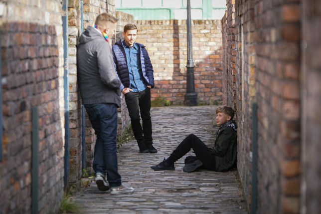 Todd, Dylan and sean Coronation Street