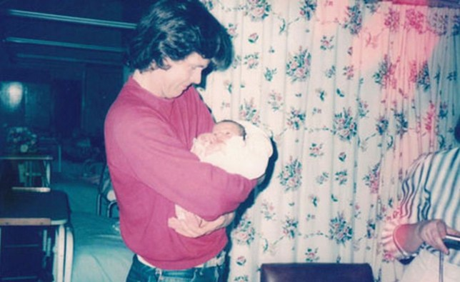 Collect photo of Bob Lambert holding his newborn child. Former Special Branch detective Bob Lambert used the pseudonym Bob Robinson and was tasked with infiltrating the Animal Liberation Front in the 1980s, where he began a relationship with 'Jacqui' a member and had a son
