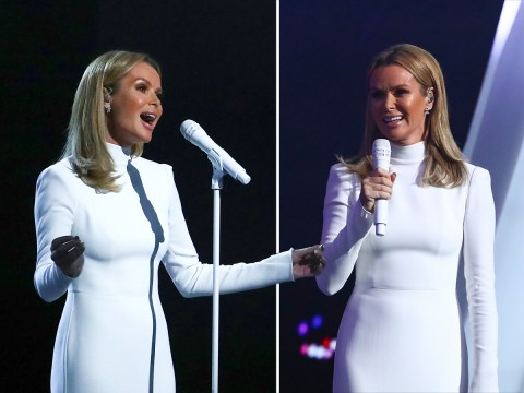 Amanda Holden to perform on Britain's Got Talent as debut album Songs From My Heart sells out on Amazon