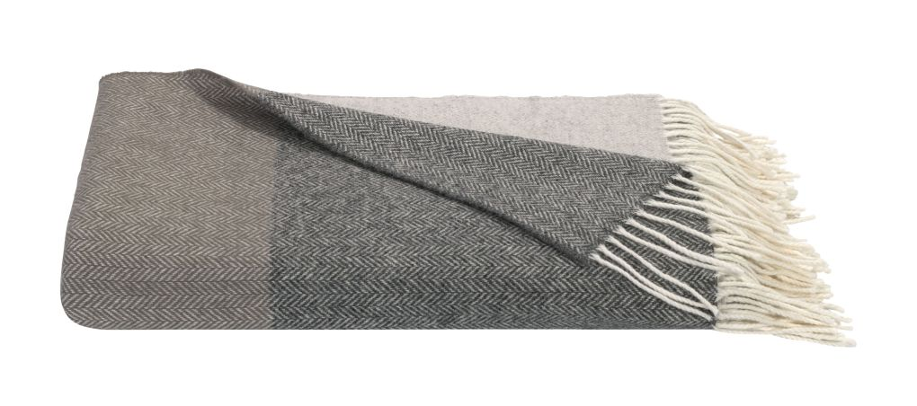 Anise Lambswool Throw by Loom and Last