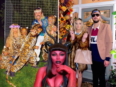 From Carole Baskin to Christina Aguilera – 2020's best celebrity Halloween costumes