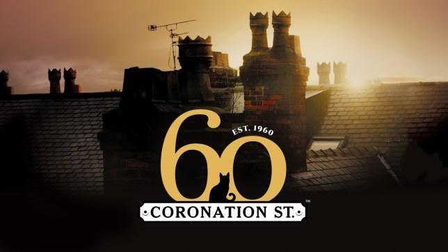Coronation Street 60th logo