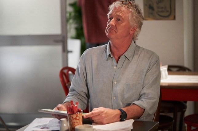 John in the Diner