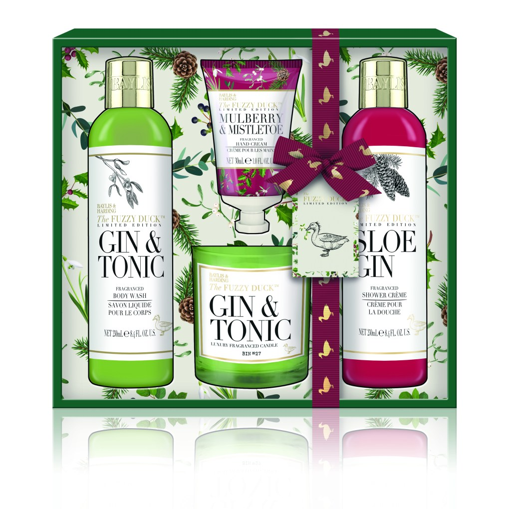 Sloe Gin Gift Set by Bayliss & Harding