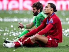Liverpool's Alisson gives verdict on Virgil van Dijk injury blow and Fabinho stepping in