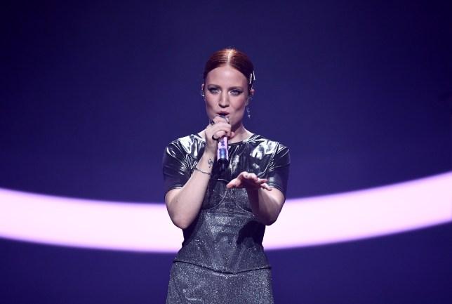Jess Glynne performing