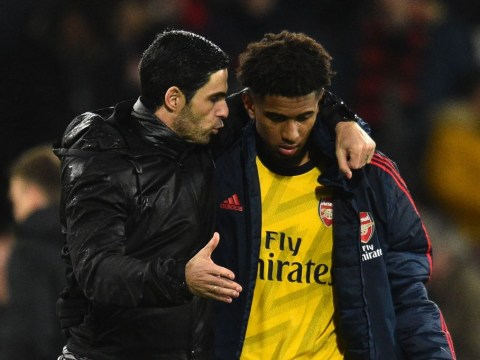 Mikel Arteta reveals one of the key reasons why Arsenal's Reiss Nelson didn't go out on loan in the summer