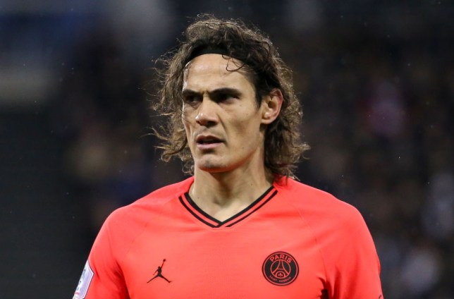 Cavani made the deadline-day move to United on a free