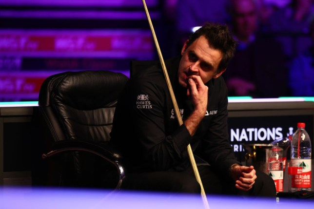 Ronnie O'Sullivan was beaten by Matthew Stevens at the English Open