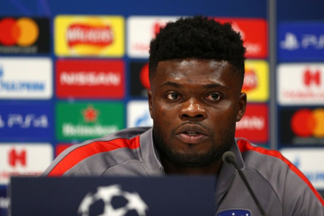 Thomas Partey joined Arsenal from Atletico Madrid on transfer deadline day
