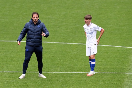 Lampard has spoken glowingly about Gilmour