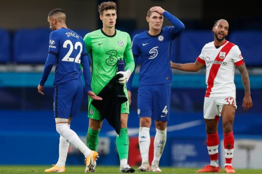 Kepa Arrizabalaga Chelsea Southampton