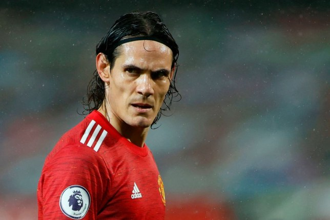 Edinson Cavani joined Manchester United on transfer deadline day