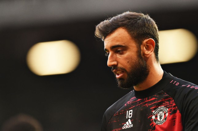 Real Madrid and Barcelona are interested in signing Bruno Fernandes